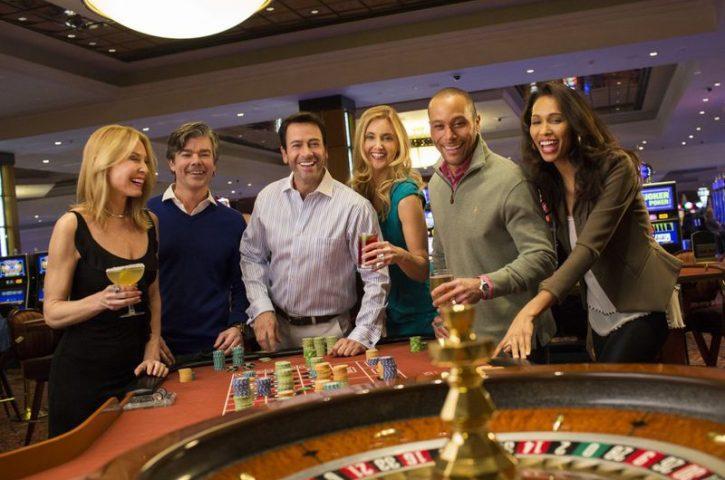Having some good times Gambling